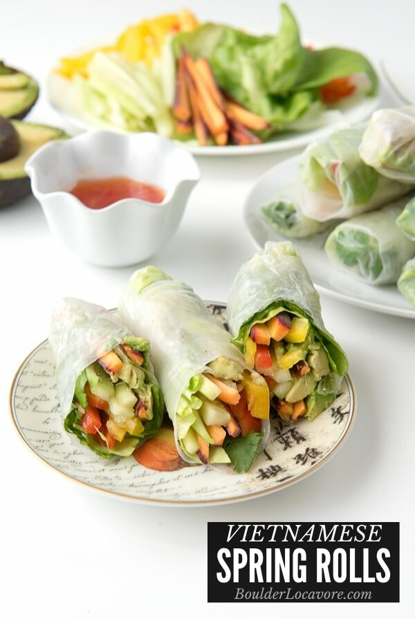 How To Make Vietnamese Spring Rolls Boulder Locavore