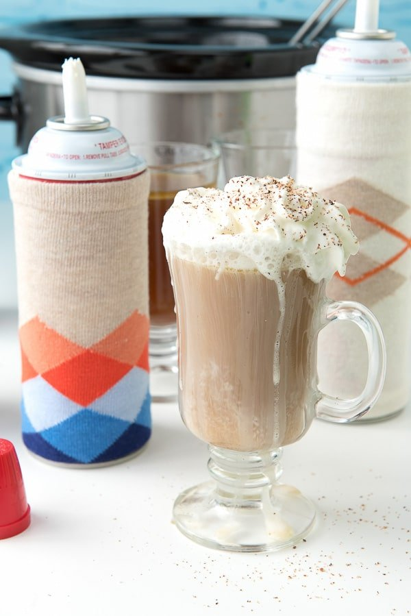 DIY Whipped Cream Canister (or wine bottle) Cozies ...
