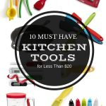 Gift Guide: 10 MUST HAVE Kitchen Tools for Less Than $20