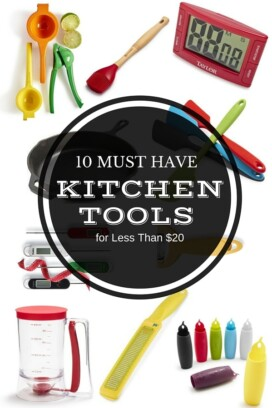 Gift Guide: 10 Kitchen Tool Must Haves Under $20 Title image