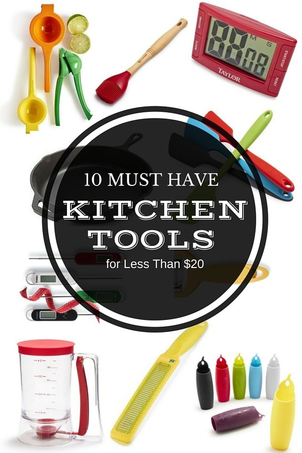 Gift Guide: 10 Kitchen Tool Must Haves Under $20 | BoulderLocavore.com