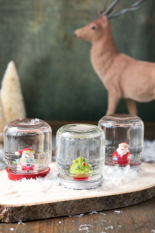 DIY How to Make Holiday Snow Globes - BoulderLocavore.com