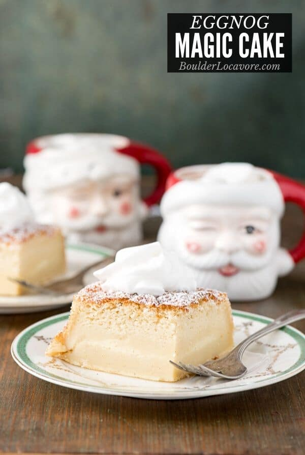 Eggnogg Magic Cake An Easy Exciting Christmas Dessert Recipe