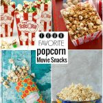 Four Favorite Popcorn Movie Snacks & a Movie Giveaway!