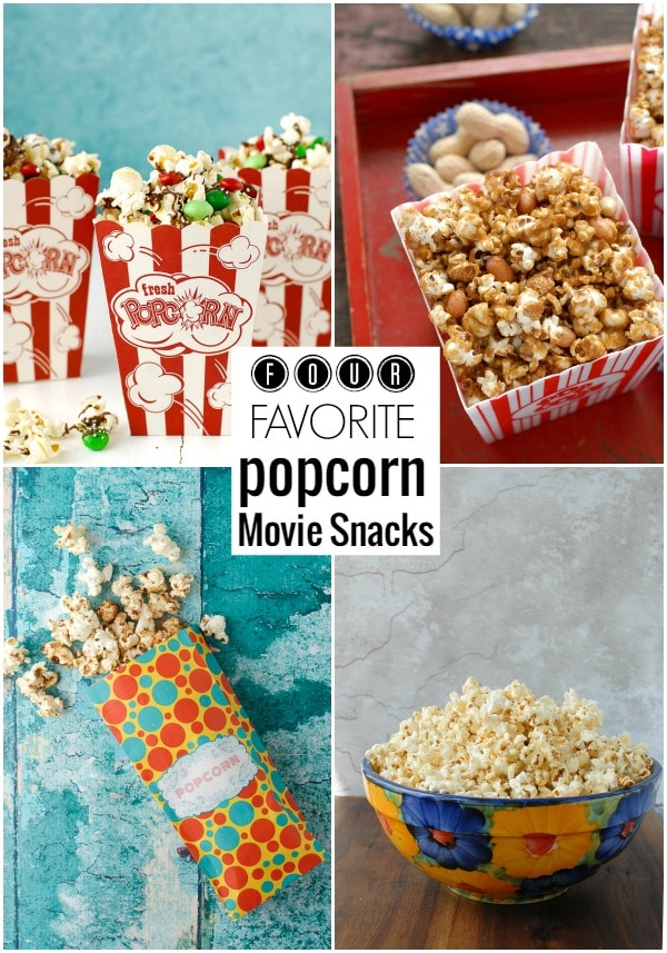 Four Favorite Popcorn Movie Snack recipes BoulderLocavore.com