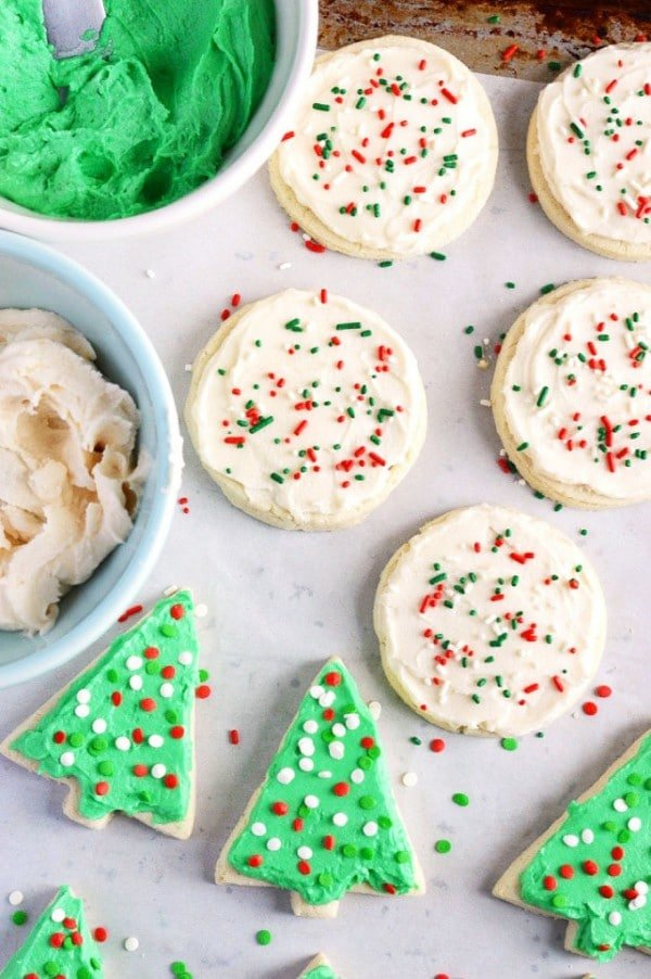 Gluten-Free Soft Frosted Sugar Cookies from What The Fork food blog ...