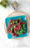 Snow Day Chocolate-Toffee Holiday Fudge