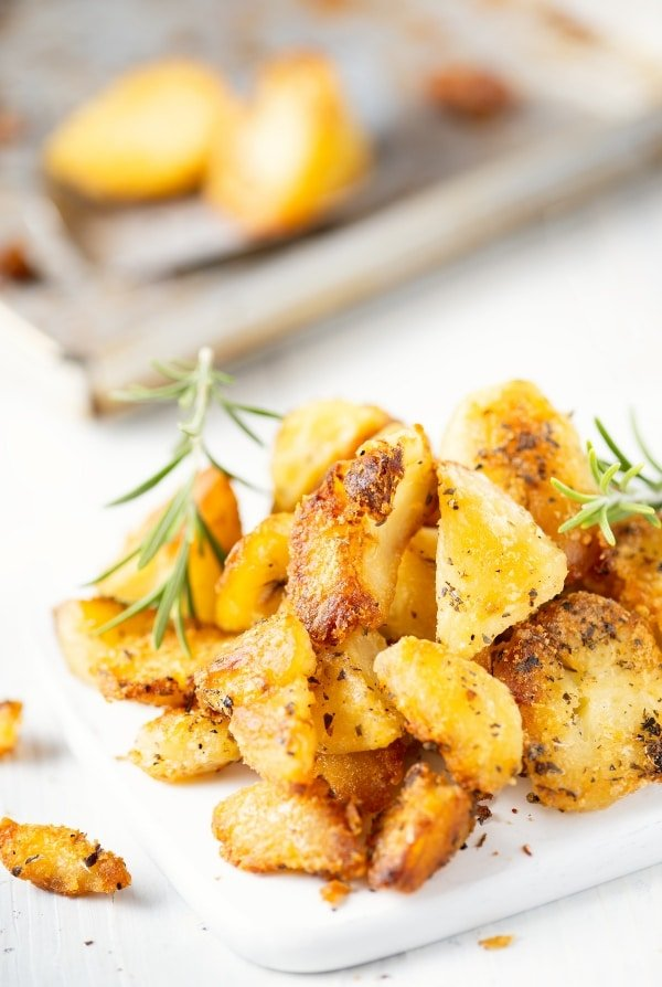 duck fat roasted potatoes