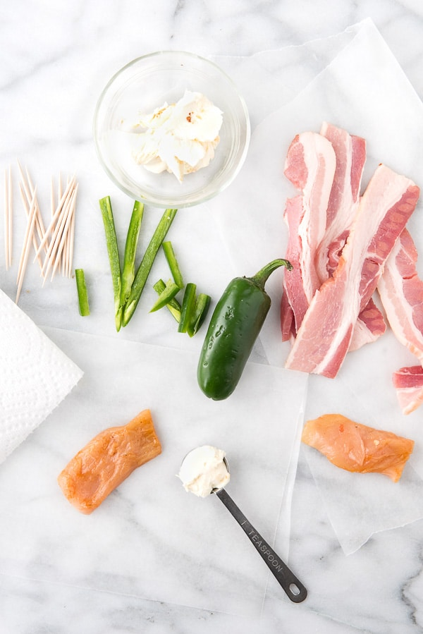 Bacon Wrapped Chicken Poppers ingredients - BoulderLocavore.com