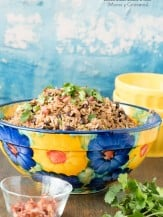 Cuban Black Beans and Rice (Moros y Cristianos). A flavorful blend of black beans, rice and spices that is easy to make and a unique side dish! - BoulderLocavore.com