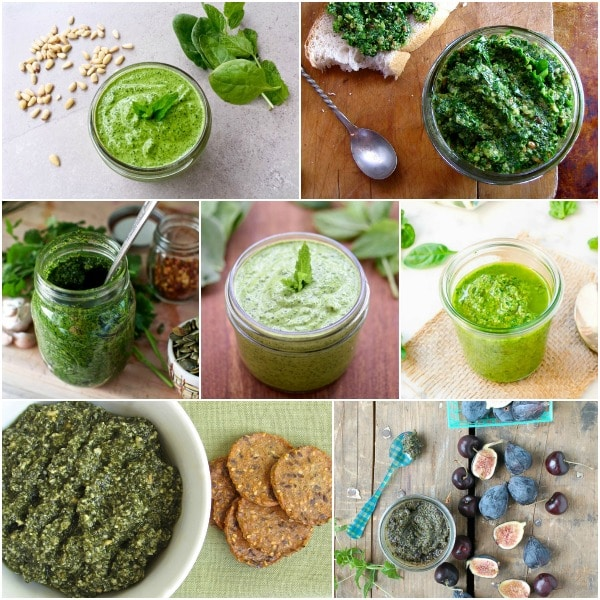Unique 'Must Try' Easy Pesto Recipes photo collage