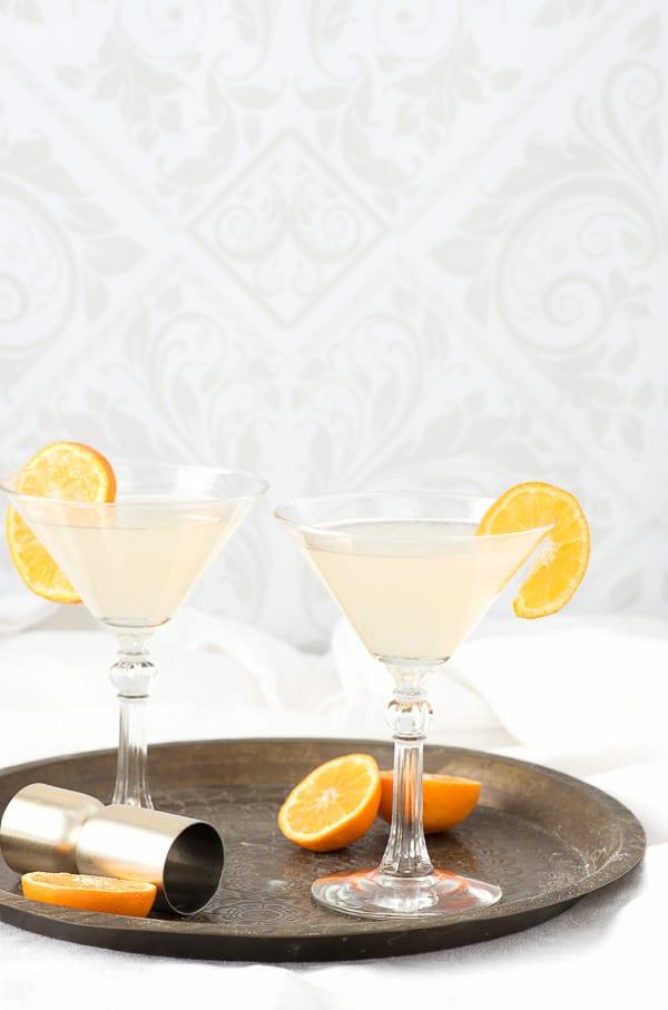The White Lady cocktail. A dry gin, citrus classic! - BoulderLocavore.com