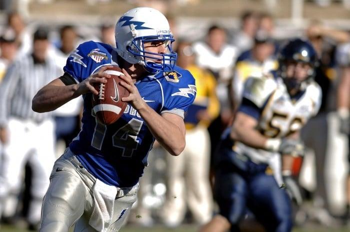 Football player with football | BoulderLocavore.com