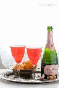 Blood Orange Mimosas with Rose Champagne - BoulderLocavore.com