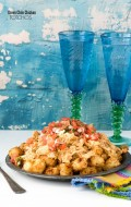 Green Chile Chicken Totchos