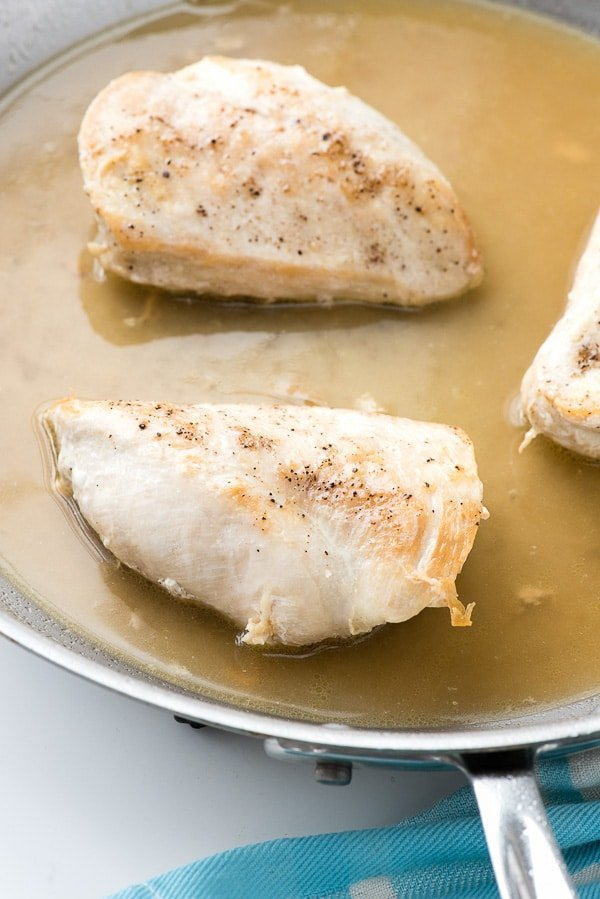 How to Make Moist Homemade Shredded Chicken Breast. Done in 20 minutes and better tasting than any shredded chicken you can buy! With a fun trick too! - BoulderLocavore.com