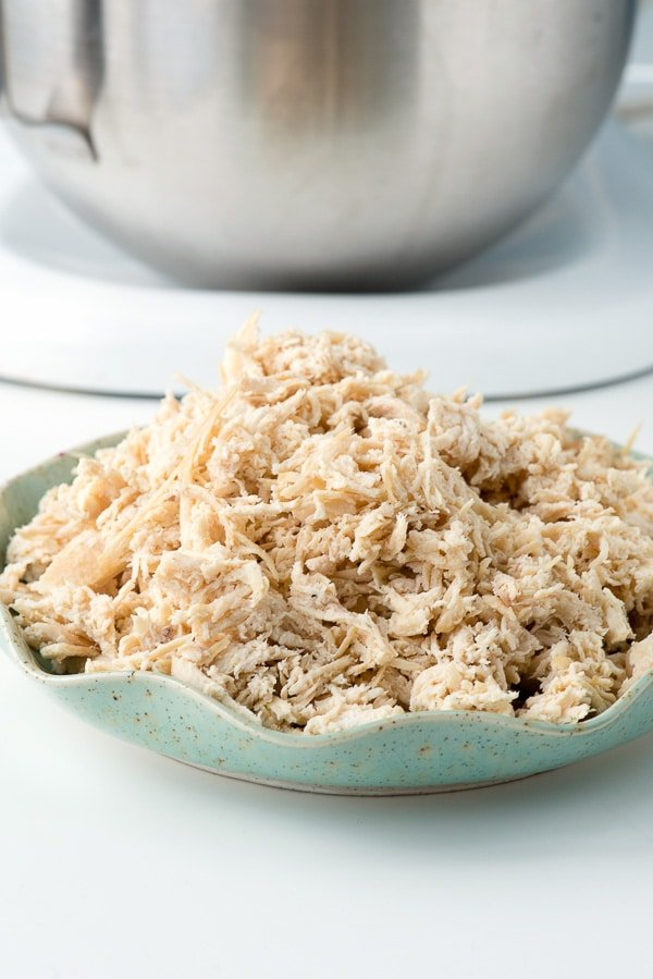 how to cook shredded chicken breast