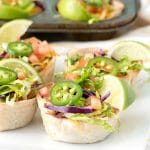 Muffin Tin Mexican Bowls