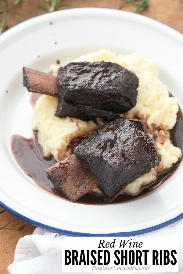Red Wine Braised Short Ribs title image