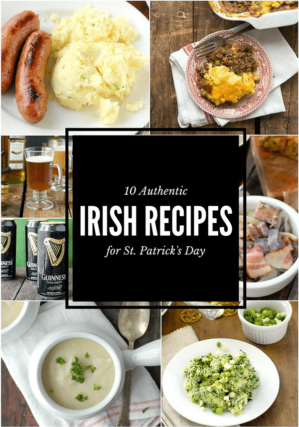 10 Authentic Irish Recipes for St. Patrick's Day