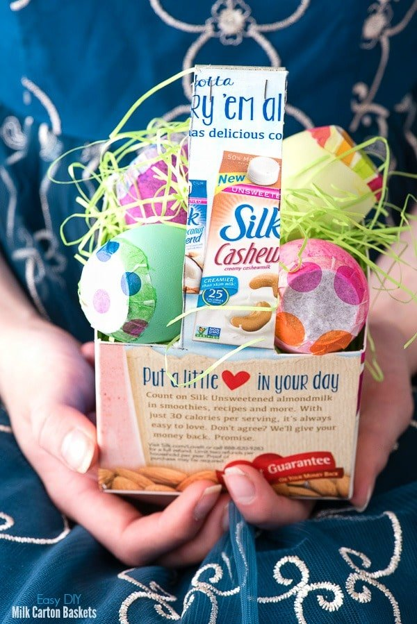 DIY Milk Carton Easter Basket