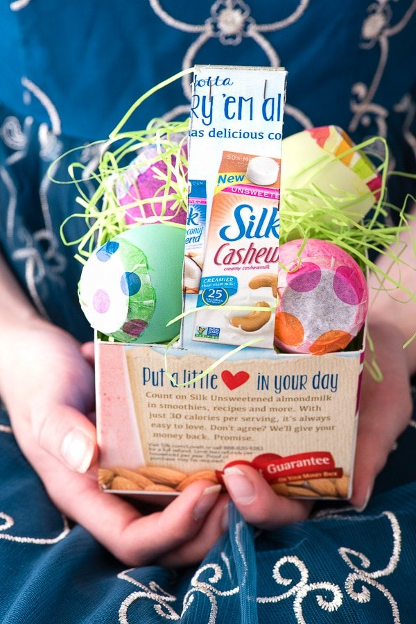 Easy Milk Carton Baskets and DIY Toy-Filled Cascarones (Eggs) - BoulderLocavore.com
