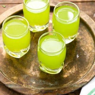 4 Lucky Leprechaun Shots cocktails