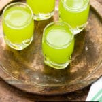 Green fruity shots for St. Patrick's day (Lucky Leprechaun Shots)