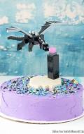 Gluten-Free Funfetti Minecraft Cake