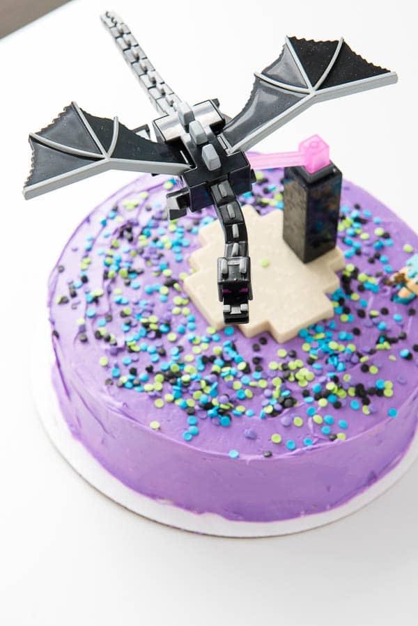 Pillsbury Gluten-Free Funfetti Minecraft Cake - BoulderLocavore.com