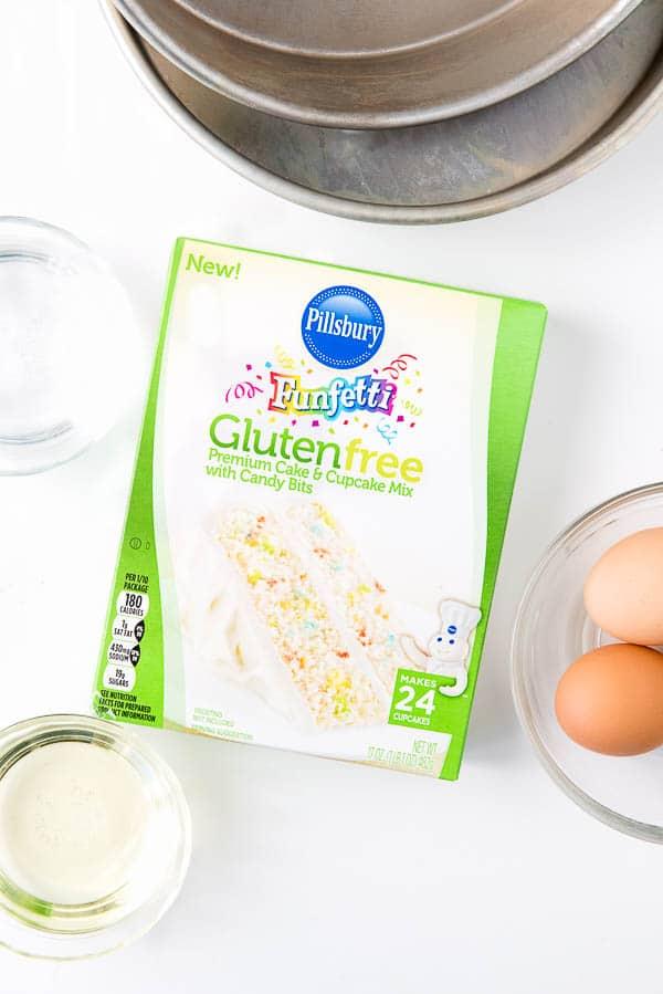 Pillsbury Gluten-Free Funfetti cake mix - BoulderLocavore.com