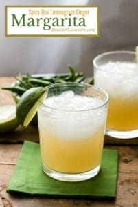 Spicy Thai Lemongrass Ginger Margarita