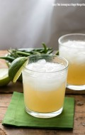 Spicy Thai Lemongrass Ginger Margarita and Food Stories Workshop