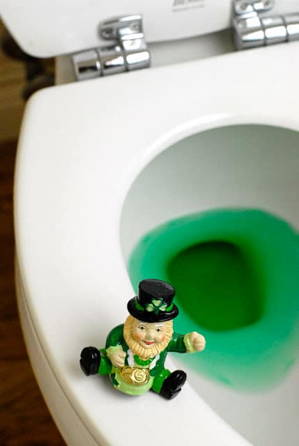 St. Patrick's Day antics and leprechauns - BoulderLocavore.com