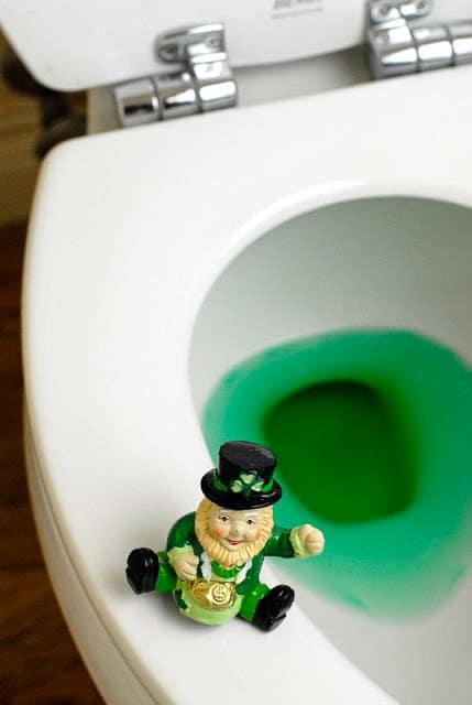 St. Patrick's Day antics and leprechauns - BoulderLocavore.com