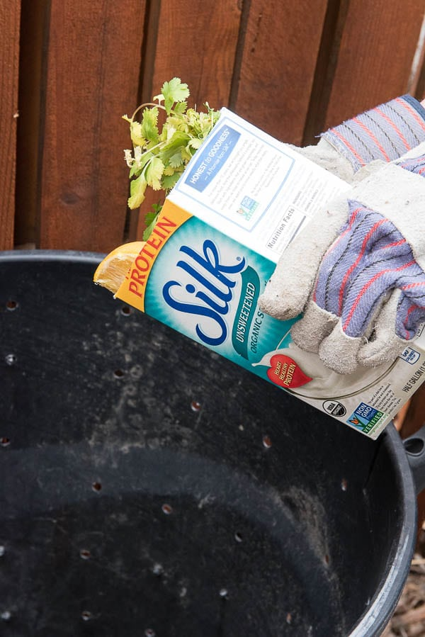 DIY Simple Home Composting Can (scraps) and Composting Guide - BoulderLocavore.com