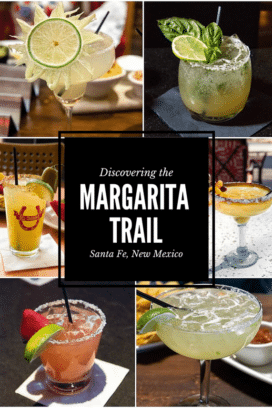 Discovering the Margarita Trail (Santa Fe, NM) with best margarita recipes collage