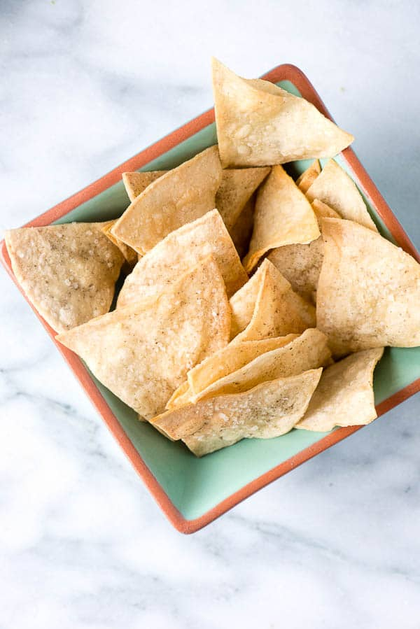 How to make Corn Tortilla Chips - BoulderLocavore.com