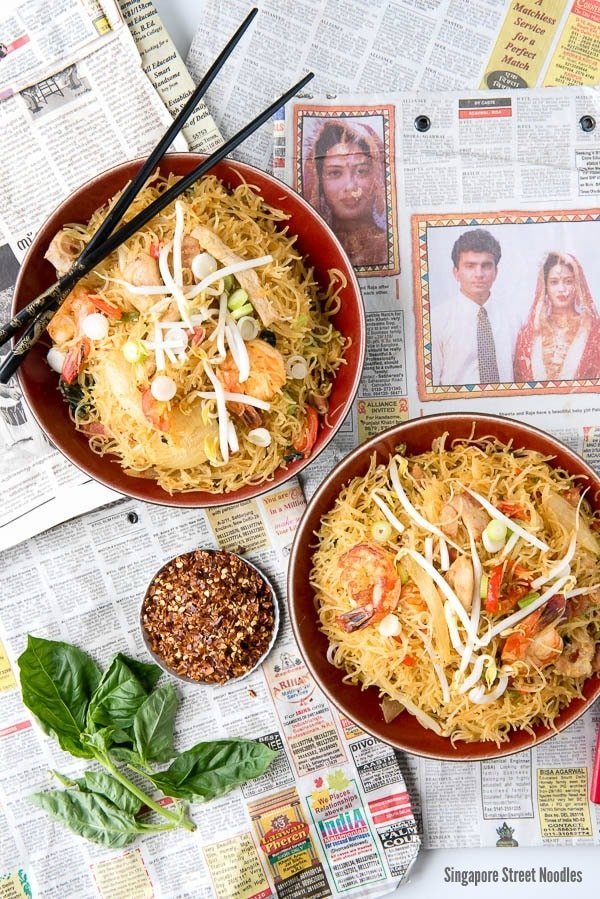 Singapore Street Noodles (Singapore Noodles recipe image)