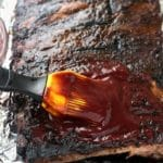 Shortcut St. Louis Ribs + Blueberry Whiskey Barbecue Sauce Recipe