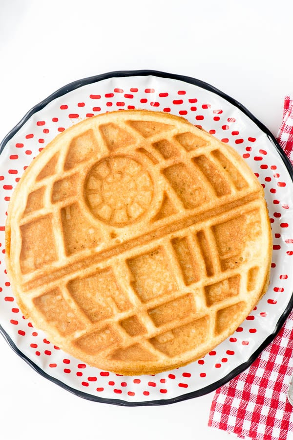 Star Wars Death Star Waffles - BoulderLocavore.com