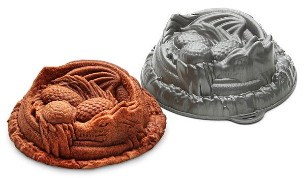 ThinkGeek Dragon Cake and Pan | BoulderLocavore.com