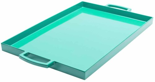 Rectangular serving tray (plastic)