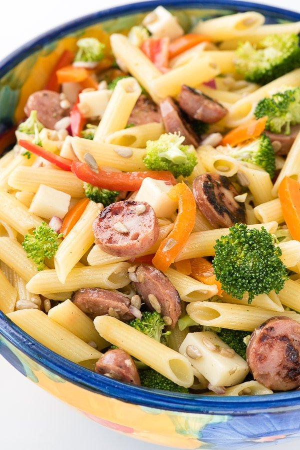 Creamy Chicken Sausage And Broccoli Pasta Recipes — Dishmaps