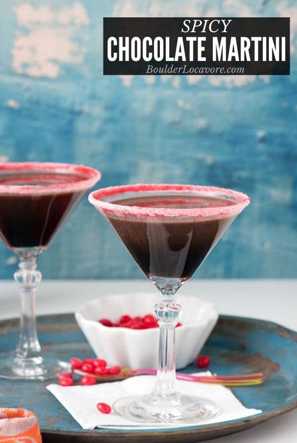 Chocolate Martini title image