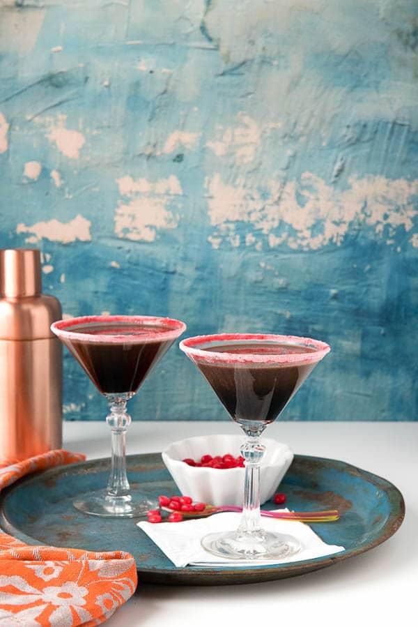 Chocolate del Fuego Cocktail (Chocolate Fire Cocktail). Rich, creamy, spicy chocolate cocktail. Some surprise ingredients too! - BoulderLocavore.com