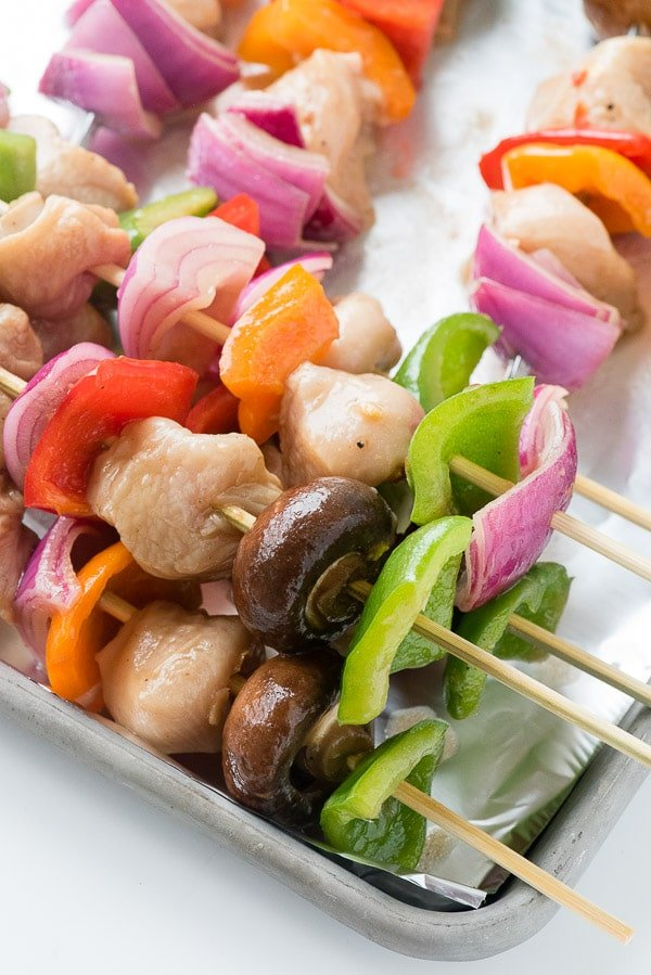 Easy Grilled Chicken Shish Kabobs | Boulder Locavore