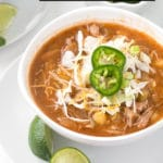 Red Posole recipe title