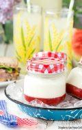 Strawberry Jam Panna Cotta