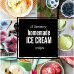 13 Summery Easy Ice Cream Recipes